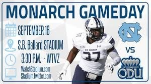 ODU Football – 2nd Game of 2017